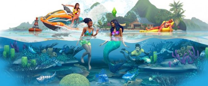 The Sims 4 Island Living Torrent Download