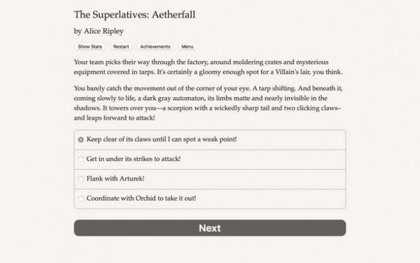 The Superlatives: Aetherfall Torrent Download