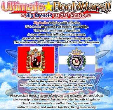 Ultimate Boob Wars!! ~Big Breasts vs Flat Chests~ Free Download