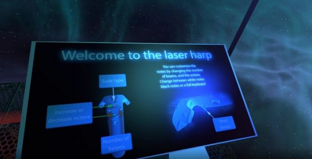 VR Laser Harp Torrent Download