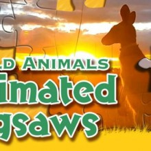 Wild Animals - Animated Jigsaws Game Free Download