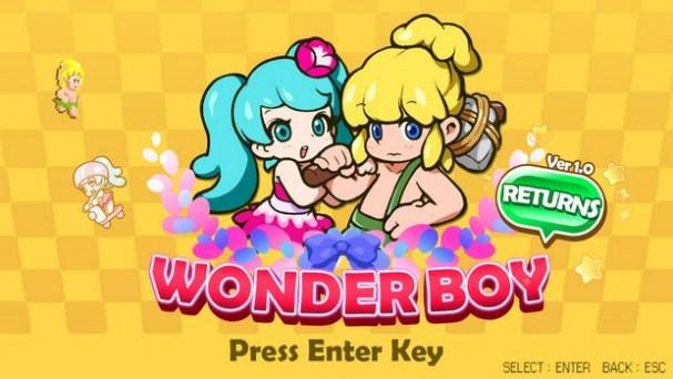Wonder Boy Returns Torrent Download